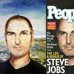 Oil Portrait form Photo by Artist Todd Krasovetz Steve Jobs Original Oil Painting 4 x 4 5 feet watermarked