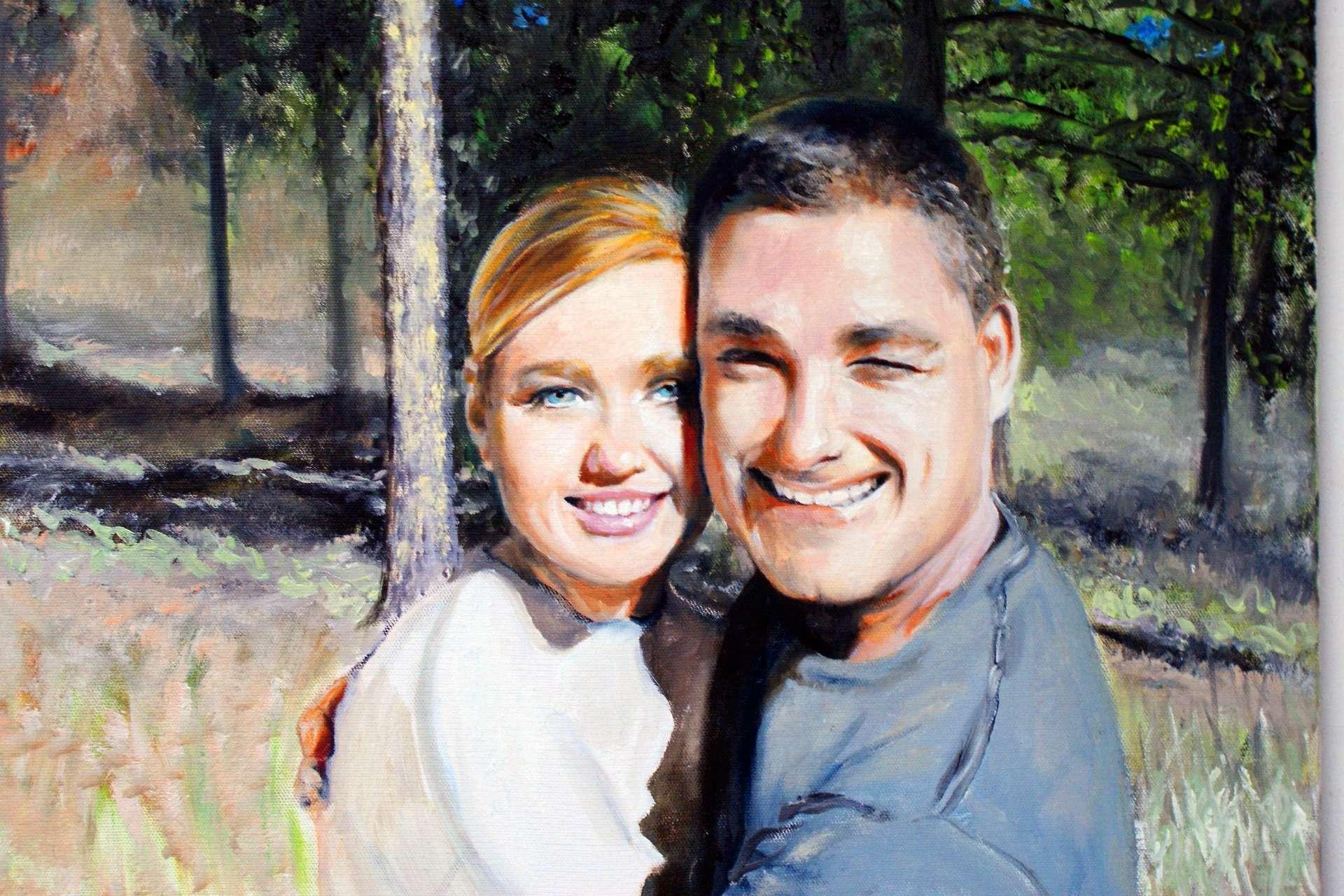 Oil Portrait from Photo Los Angeles Oil Portrait Artist Todd Krasovetz
